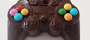 Forma de Chocolate Joystick