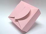PC-1 Caixa Coração Lisa Rosa, Medidas: 6.5 X 6.5 X 3 cm