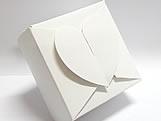 PC-1 Caixa Coração Lisa Branca, Medidas: 6.5 X 6.5 X 3 cm