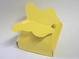 PB-1 Caixa Borboleta Lisa Amarela
