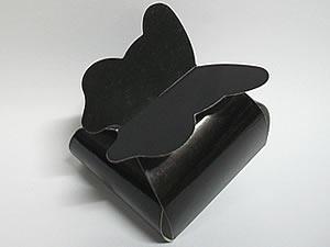 PB-1 Caixa Borboleta Lisa Preta