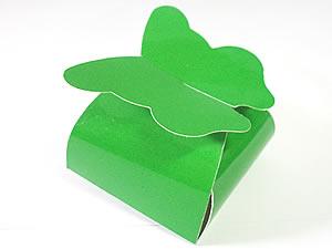 PB-1 Caixa Borboleta Lisa Verde Claro