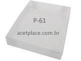 P-61, Medidas: 13 X 7 X 1.5 cm