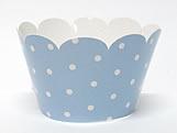 Wrapper Poa Azul Claro, Medidas: 7.5 x 5 x 4.5 cm