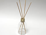 Aromatizador 250ml Ouro, Medidas: 6.5 X 6.5 X 25 cm