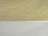 Papel Crepom para Bem Casado Poa Ouro (Papel Seda), Medidas: 15 x 15 cm