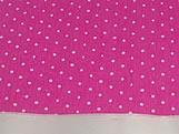 Papel Crepom Pink  Poa para Bem Casado Jardineira
