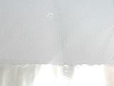 Papel Crepom para Bem Casado Liso Branco Jardineira