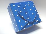 PC-1 Poa Azul Escuro, Medidas: 6.5 X 6.5 X 3 cm