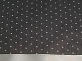 Papel Crepom para Bem Casado Poa Preto/Branco, Medidas: 15 x 15 cm
