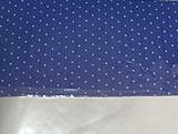 Papel Crepom para Bem Casado Poa Azul Marinho, Medidas: 15 x 15 cm