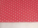 Papel Crepom para Bem Casado Poa Vermelho, Medidas: 15 x 15 cm
