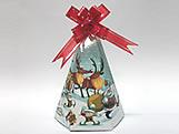 Cone-2 Natal para Cone Trufado, Medidas: 7 X 7 X 12 cm