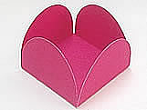 Caixeta Dobravel Papel Lisa Pink