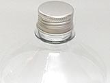 Frasco 1L com tampa Prata Aluminio