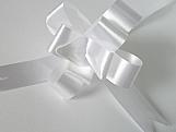 Laço Pequeno Branco Liso