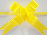 Laço Pequeno Amarelo Liso