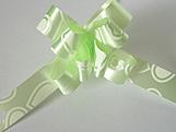 Laço Pequeno Verde Claro Coração, Medidas: 12 x 250 mm cm