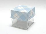 PM-50 Xadrez Azul Claro