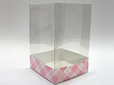 PMB-11 Xadrez Rosa, Medidas: 6 X 6 X 9.5 cm