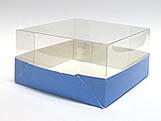 PMB-13 Lisa Azul Escuro, Medidas: 7.5 X 7.5 X 4 cm