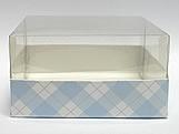 PMB-13 Xadrez Azul Claro, Medidas: 7.5 X 7.5 X 4 cm