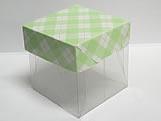 PMB-4 Xadrez Verde Claro, Medidas: 5 X 5 X 5 cm