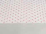 Papel Crepom para Bem Casado Poa Branco/Vermelho, Medidas: 15 x 15 cm