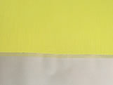 Papel Crepom para Bem Casado Liso Amarelo Jardineira