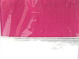 Papel Crepom para Bem Casado Liso Pink Jardineira