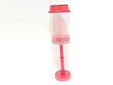 Push PopCake Vermelho Ref.699 BWB, Medidas: 4.5 X 4.5 X 7 cm