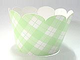 Wrapper Xadrez Verde Claro