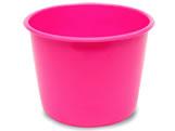 Balde Pink 1,5L, Medidas: 16 x 12,5 x 12 cm