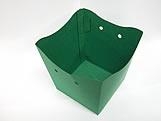 Cachepo Liso Verde Escuro
