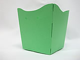Cachepo Liso Verde Claro, Medidas: 9 X 7 X 9.5 cm