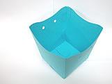 Cachepo Liso Azul Turquesa / Tiffany