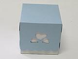 Caixa 3 Corações Azul Claro