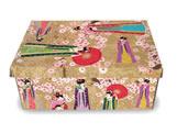 Caixa Organizadora Pequena Japão, Medidas: 35 X 25 X 14 cm