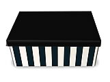 Caixa Organizadora Pequena Zebra, Medidas: 35 X 25 X 14 cm