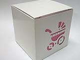 DV-10 Carrinho de Bebê com Forro Pink, Medidas: 8.5 X 8.5 X 8 cm