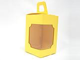 DV-12 Lisa Amarela, embalagem com visor