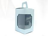 DV-12 Lisa Azul Claro, embalagem com visor, Medidas: 6 X 6 X 10 cm
