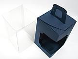 DV-12 Lisa Azul Marinho, embalagem com visor