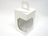 DV-12 Lisa Branca, embalagem com visor