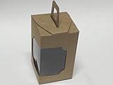 DV-12 Kraft, embalagem com visor