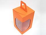 DV-12 Lisa Laranja, embalagem com visor