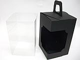 DV-12 Lisa Preta, embalagem com visor
