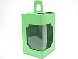 DV-12 Lisa Verde Claro, embalagem com visor, Medidas: 6 X 6 X 10 cm