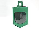 DV-12 Lisa Verde Escuro, embalagem com visor