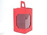 DV-12 Lisa Vermelha, embalagem com visor, Medidas: 6 X 6 X 10 cm